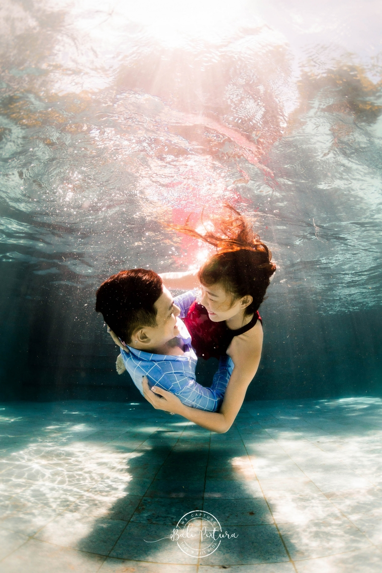 bali underwater pre wedding photoshoot bali pixtura 2